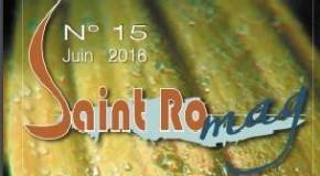 Journal municipal le St RO Mag n°15 de juin 2016.