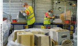 L'état ne contrôle pas les filières de recyclage.