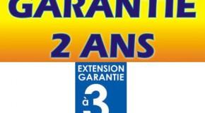 Garantie des produits et extension de garantie