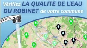 Carte interactive de la qualité de l'eau : À JOUR et GRATUITE!