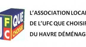 Transfert du siège de l'antenne locale UFC QUE CHOISIR du HAVRE.