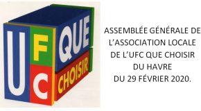 Assemblée générale de l'Association Locale.