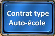 Auto-école. Un contrat type obligatoire.