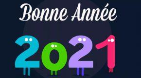 MEILLEURS VOEUX  POUR 2021.